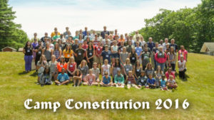 Camp Constitution group photo 2016